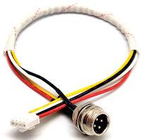 Ver informacion sobre Cable Alimentacion Mic 12mm - connector 4 contactos