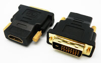 Ver informacion sobre DVI-D MACHO - HDMI HEMBRA