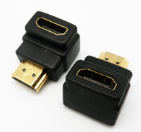 Ver informacion sobre 90º HDMI TIPO A MACHO- HEMBRA