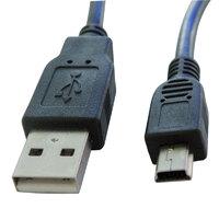 Ver informacion sobre USB A MACHO - MINI USB  A MACHO, 5P., 0.3m