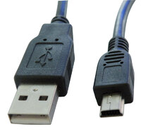 Ver informacion sobre USB A MACHO - MINI USB  A MACHO, 5P., 1.8m