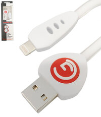 Ver informacion sobre Lightning cable, Color Blanco, con chip, 1m