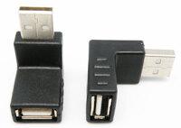 Ver informacion sobre Adaptador USB Macho - Hembra, 90º
