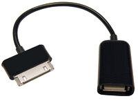 Ver informacion sobre O.T.G. USB A HEMBRA a SAMSUNG TAB, 0.15M (PARA SAMSUNG TABLETS)