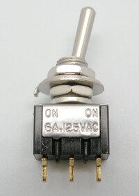 Ver informacion sobre INTERRUPTOR MINI 3P. (SPDT) ON-ON, 125V-6A (250V.- 3A)