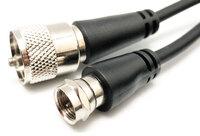 Ver informacion sobre F MACHO - UHF MACHO, RG-59, 1.5m