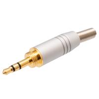 Ver informacion sobre Conector Jack 3.5mm de aluminio estéreo con rosca