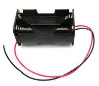 Ver informacion sobre Portapilas para 4xR6, Cable