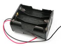 Ver informacion sobre Portapilas para 6xR6, Cable