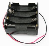 Ver informacion sobre Portapilas para 8xR6, Cable