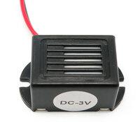 Ver informacion sobre ZUMBADOR ELECTRONICO CON CABLE, 85DB, 3V - 30mA