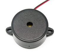 Ver informacion sobre ZUMBADOR ELECTRONICO CON CABLE, 3-20V/50mA, 4.7 KHZ/ 95DB