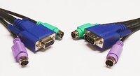 Ver informacion sobre KVM CABLE, HDB15M+2PS/2 - HDB15H+2PS/2, 1.5m