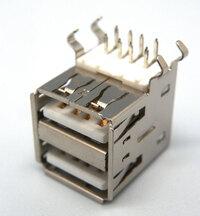 Ver informacion sobre DOBLE USB TIPO ''''A'''', HEMBRA C.I., BLINDADO