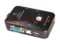 Ver informacion sobre Selector KVM VGA+USB*2