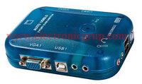 Ver informacion sobre Selector KVM Automatico USB + AUDIO