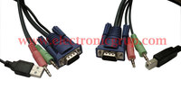 Ver informacion sobre USB+AUDIO KVM CABLE, 1,5mts.