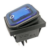 Ver informacion sobre 4P Int. Estanco ON-OFF 10A/16A 125V/250V, Azul