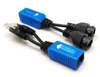 Ver informacion sobre Balun /splitter PoE doble hembra, para cámaras IP