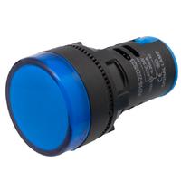Ver informacion sobre Piloto LED industrial de 22mm, 24V Azul