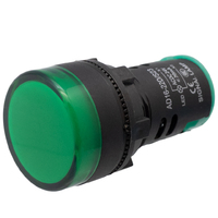 Ver informacion sobre Piloto LED industrial de 22mm, 24V Verde