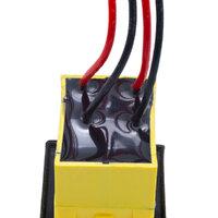 4P. Interruptor Estanco IP68, Negro