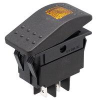 Interruptor para automóvil/embarcación 12V 20A, LED amarillo