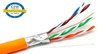 Ver informacion sobre FTP Cat.6 CCA LSZH CPR 305m, naranja, Pull Box
