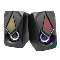 Ver informacion sobre Altavoz Gaming 2.0 LED multimedia regtangular
