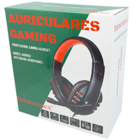 Auriculares Gaming  Rojo