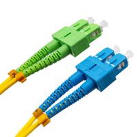Ver informacion sobre Cable de fibra óptica SC/APC a SC/UPC Monomodo Duplex, 1m