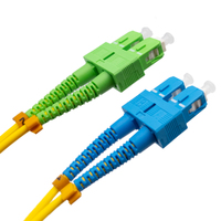Ver informacion sobre Cable de fibra óptica SC/APC a SC/UPC Monomodo Duplex, 2m