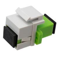 Ver informacion sobre SC/APC SM SX adaptador para keystone