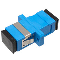 Ver informacion sobre SC/UPC SM SX adaptador con pestaña para patch panel