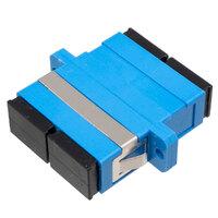 Ver informacion sobre SC/UPC SM DX adaptador con pestaña para patch panel