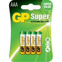 AAA LR03 SUPER ALCALINA 1,5v - Blister 4und.