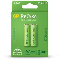 AA, LR06 ReCyko recargable 2600mAh - Blister 2und.
