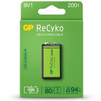 9V, LR09 ReCyko recargable 200mAh - Blister 1und.