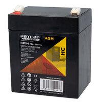 Ver informacion sobre Batería 12V 5Ah HeyCar serie HC 90x70x107 (L x W x H)