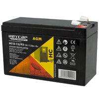Ver informacion sobre Batería 12V 7,2Ah HeyCar Service HA 151x65x94 (L x W x H)