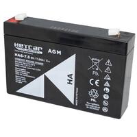Ver informacion sobre Batería 6V 7,5Ah HeyCar serie HA 70x48x101 (L x W x H)