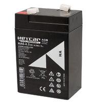 Ver informacion sobre Batería 6V 4,5Ah HeyCar serie HA 70x48x107 (L x W x H)