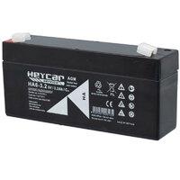 Ver informacion sobre Batería 6V 3,2A HeyCar serie HA 134x34x61 (L x W x H)