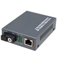 Convertidor Óptico a RJ45 para SC Simplex T1310nm R1550nm
