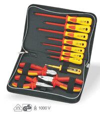 Ver informacion sobre Kit de 11 herramientas básico para electricista