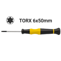 Destornillador Precision Torx T6x50mm